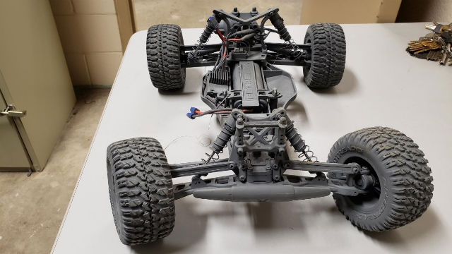 RC car drive train used to smuggle meth