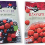 Recalled raspberries
