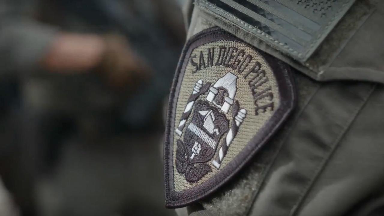 San Diego Police Department-Absolventen Größte Klasse von Rekruten in 25 Jahren