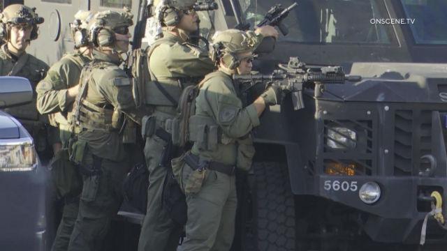 San Diego Sheriff's SWAT team