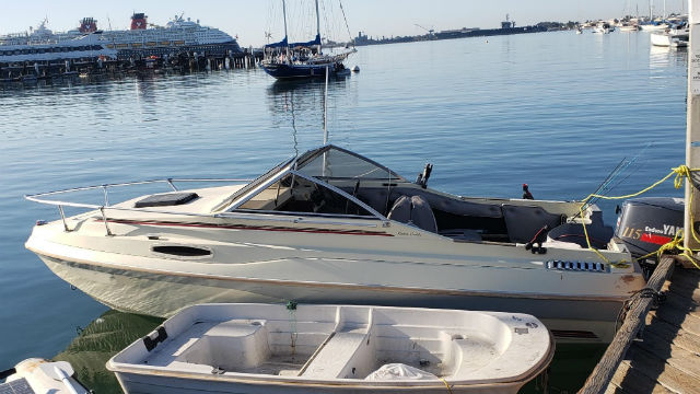 Smuggling boat used in Sunday's incident