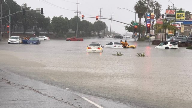 Flooding in the South Bay