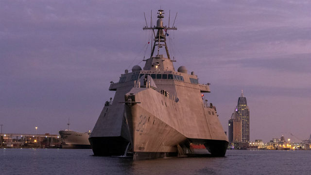 The future USS Kansas City