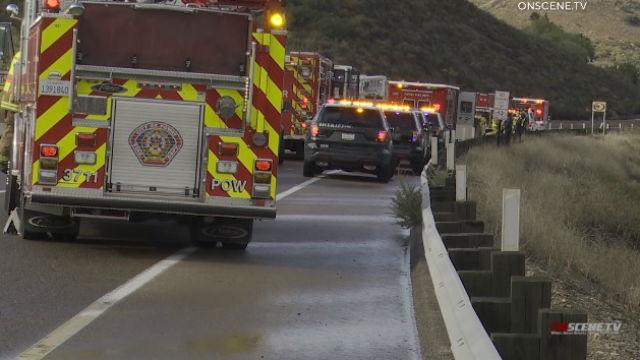 Zwei Schwerverletzte, Wenn Das Fahrzeug Stürzt 300 Meter