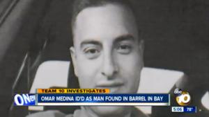 Murder victim Omar Medina of Chula Vista.