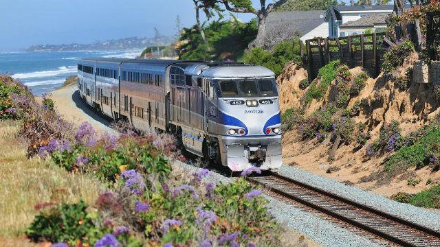 Trolley-Konstruktion Wird Halt Amtrak-und Coaster-Verkehr an Diesem Wochenende Wieder