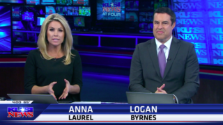 KUSI anchor Anna Laurel at 4 p.m. Monday newscast told viewers that exclusive interview with Rep. Duncan Hunter was conducted on condition that certain questions had to be asked.