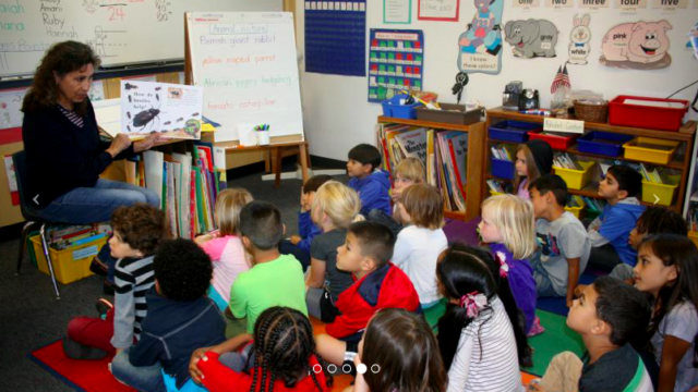 Classroom at Birney Elementary School in the San Diego