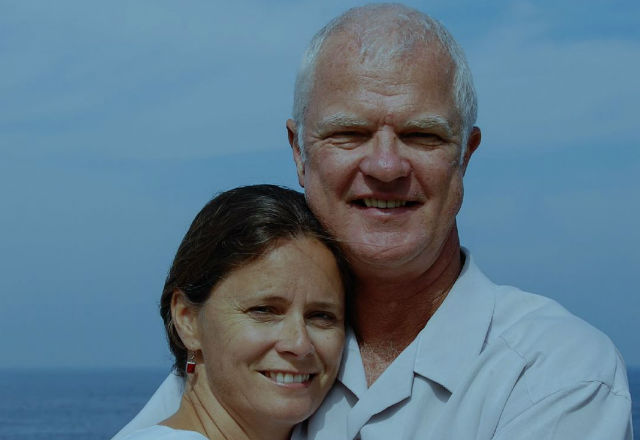 Cal Walker and his wife, Terri Stevenson