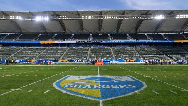 Ladegeräte Verlieren Raiders im Letzten Spiel bei der NFL ist das Kleinste Stadion