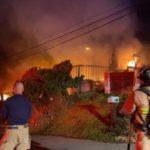 Flames for burning Encinitas duples