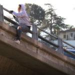 Suspect on I-805 ramp