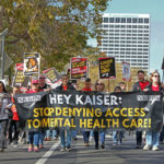 Kaiser Permanente workers picket