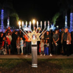 Menorah lighting at Liberty Station