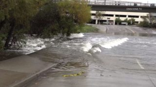 Flooding in Mission Valley