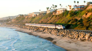 Pacific Surfliner in Orange County