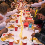 Salvation Army holiday dinner at Golden Hall