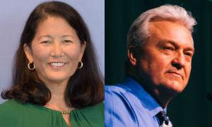 Nancy Sasaki and Keith Maddox