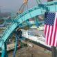 SeaWorld's Emperor Dive Coaster
