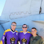 San Diego Seals players MCAS Miramar's commander