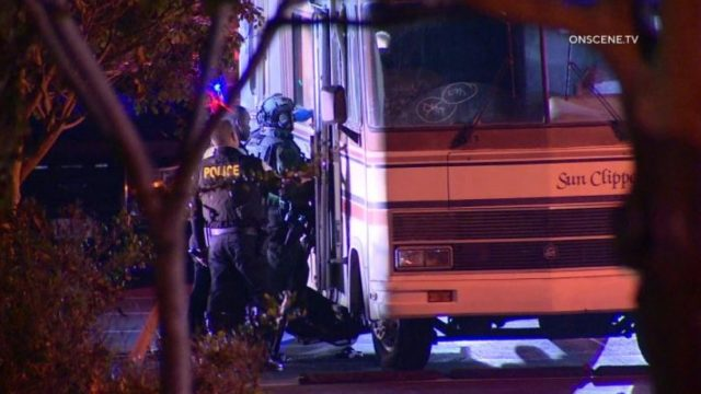 Officers enter stolen RV