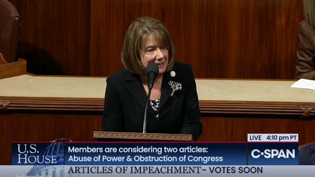 Rep. Susan Davis speaks on the House floor