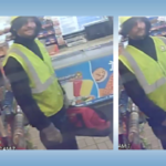 Gas station assault suspect.
