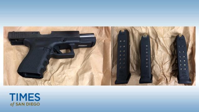 handgun and ammo