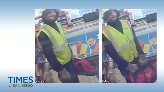 Gas station assault suspect.