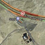 Area of accident near Imperial County line.