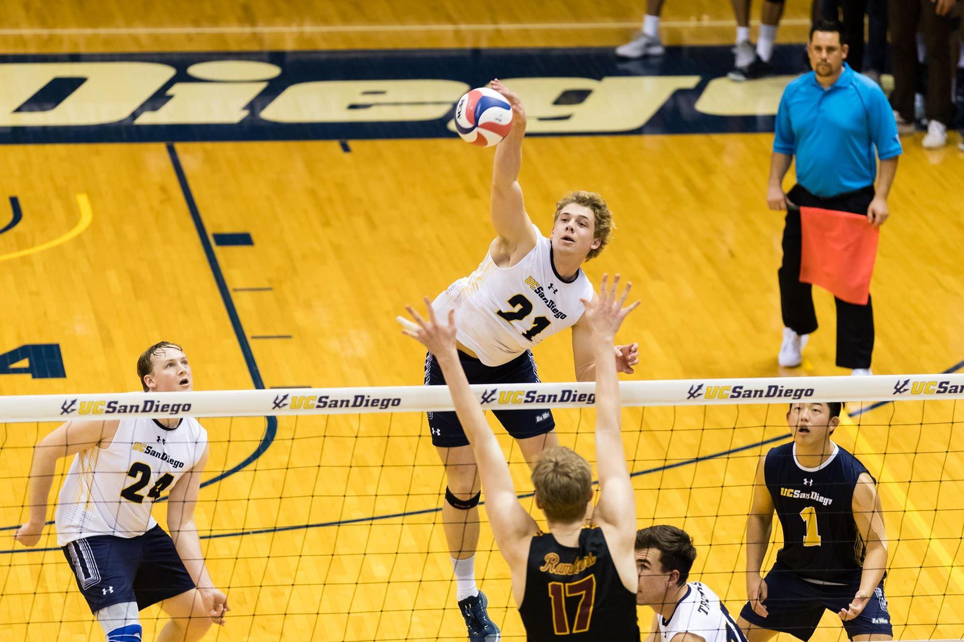 UCSD Men ' s Volleyball Klopft Off Top-Team, Kann Es Wieder Tun, Samstag