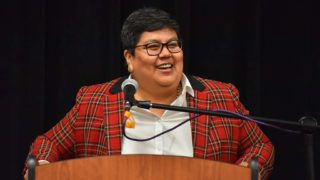 """Georgette Gómez said that as a """"queer brown woman"""" she reached out to Muslim members of her district when President Trump declared his travel ban."""
