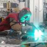 Welder at Austal USA