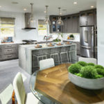 A luxury kitchen at Avella
