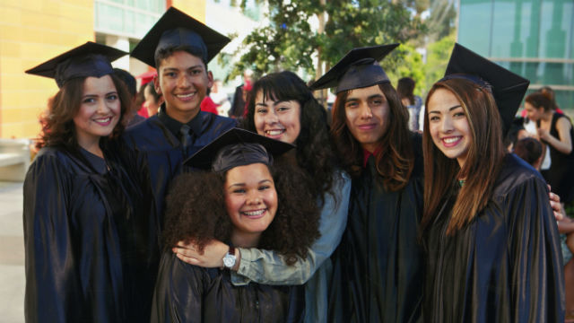 Students helped by the Barrio Logan College Institute