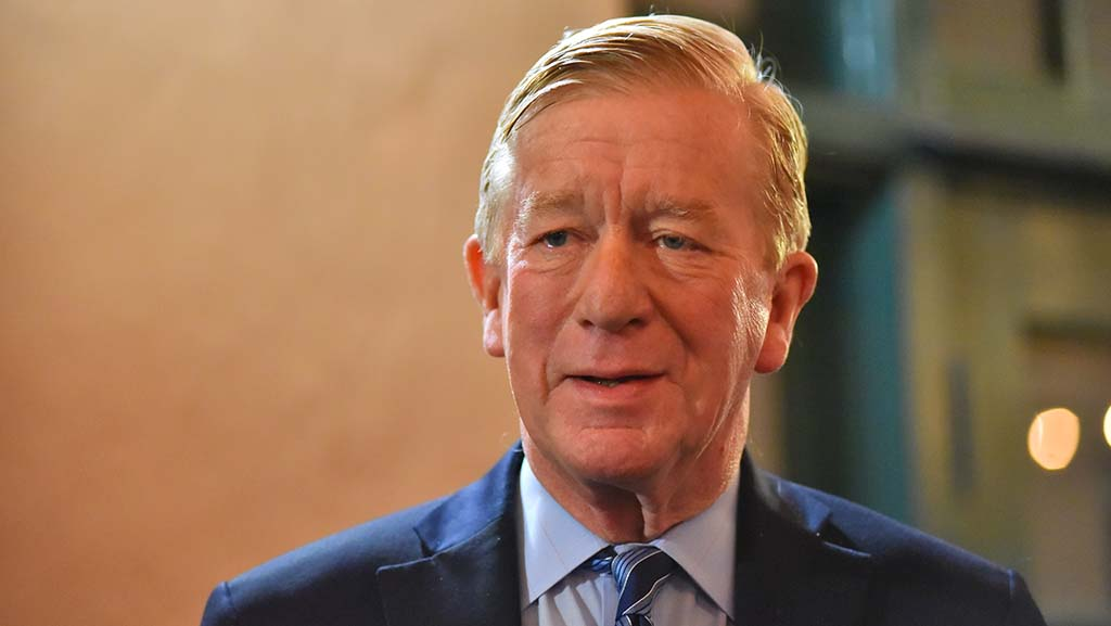 Former Massachusetts Gov. Bill Weld recalled how President Clinton gave him the choice of becoming ambassador to Mexico, India or the United Kingdom's Court of St. James. (He chose Mexico, but GOP Sen. Jesse Helms blocked his appointment.)