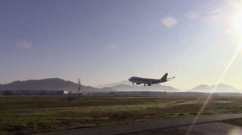 Riverside County Παραγγελίες Καραντίνα για τον Επιβάτη σχετικά με ναυλωμένη Πτήση από την Κίνα