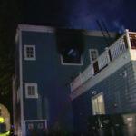 Fire-damaged Encinitas home