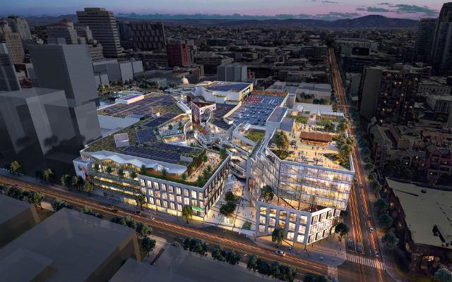 Macy ' s in der Nähe der Innenstadt von Speichern,, Ebnet Weg für Horton Plaza Sanierung