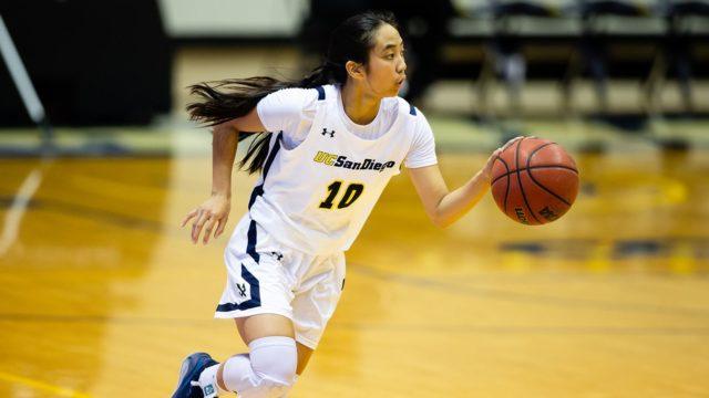 Women's basketball UCSD CCAA