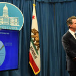 Gov. Gavine Newsom presents his budget