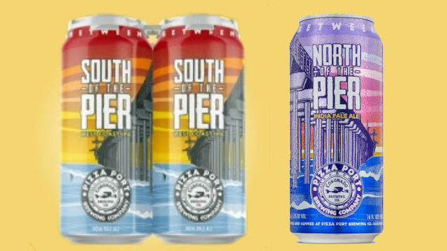 Pier beer project cans