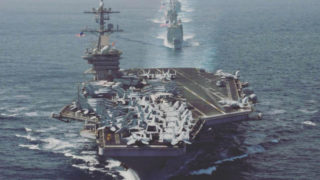 Roosevelt strike group underway in 2018