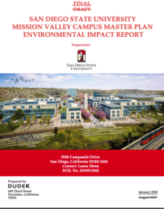 Executive summary of SDSU Mission Valley EIR (PDF)