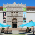 Entrance to San Diego Museum of Art