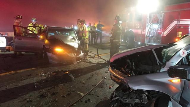 Highway crash