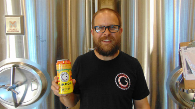 """Shawn Steele with """"The Chief"""" IPA"""