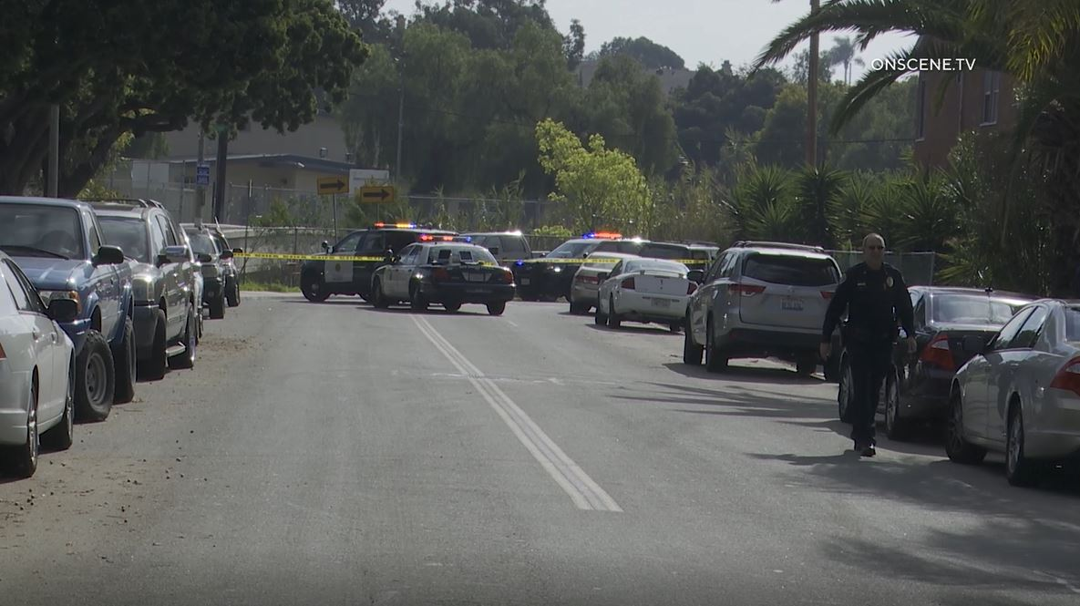 殺人被害者のたBloodied車Southcrest域