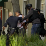 Domestic violence suspect is taken into custody after El Cajon standoff. Image via OnScene.TV