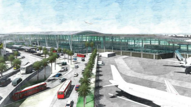 Concept rendering of the new Terminal 1